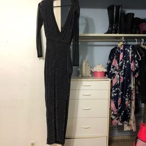 (SOLD) Hedonia Black sparkly gown